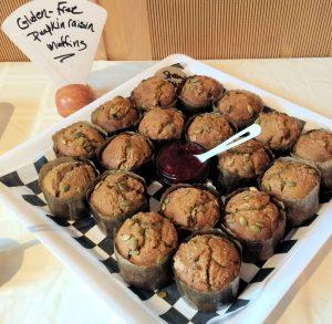 gluten free muffin platter
